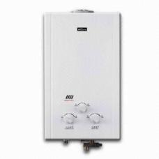 გაზის წყალგამაცხელებელი VIVA - CD 8L FF ვერცხლისფერი