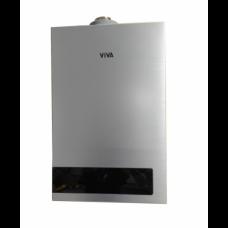 გაზის წყალგამაცხელებელი VIVA - S36 12L FF ვერცხლისფერი