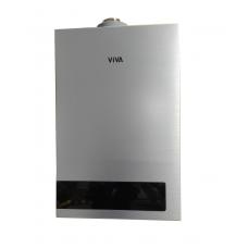 გაზის წყალგამაცხელებელი VIVA - EPT18 12L FF ვერცხლისფერი